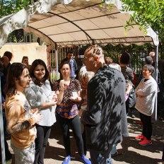 SACI's Theater, Body, and Diversity reception at Fili e Colori, Florence
