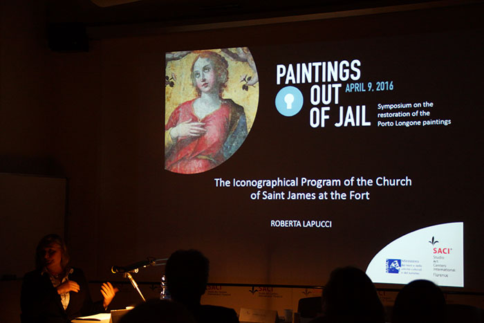 """Paintings Out of Jail"" Conservation Symposium & Exhibit at SACI"