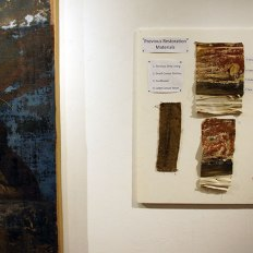 """""""Paintings Out of Jail"""" Conservation Symposium & Exhibit at SACI"""