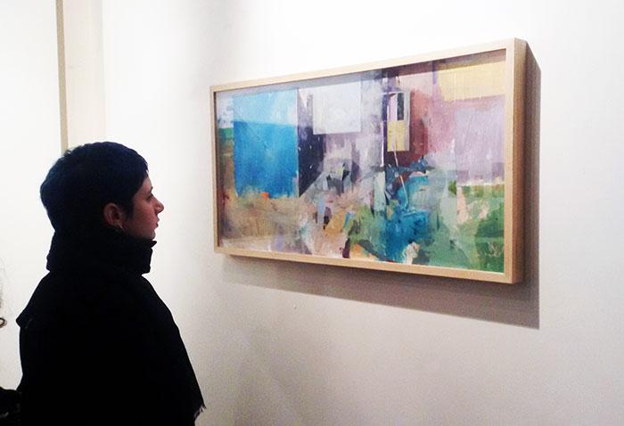 Pietro Manzo exhibition in SACI's Maidoff Gallery
