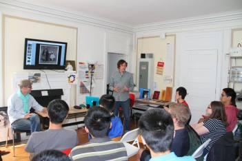 Dejan Atanackovic lecturing at PRISMS