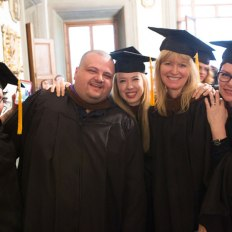 SACI 2016 MFA Commencement graduates