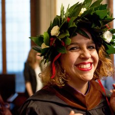 SACI 2016 MFA Commencement graduate