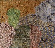 """Filipe Rocha da Silva, """"Grupos de Objectos,"""" Óleo sobre Madeira, 110x125 cm, 2007"""