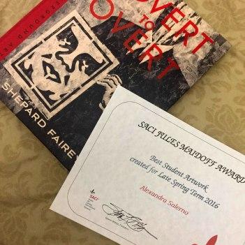 Best Student Artwork Award