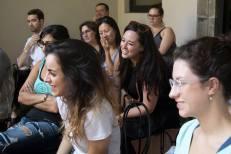 SACI students at Enrica Borghi demonstration at SACI
