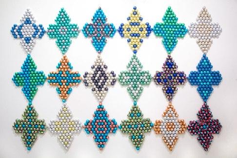 Enrica Borghi installation at SACI