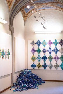 Enrica Borghi exhibition at SACI's Maidoff Gallery