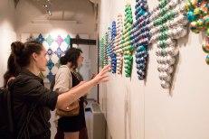 Enrica Borghi reception at SACI's Maidoff Gallery