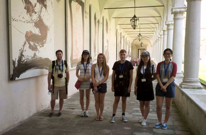 SACI students on the Venice Summer Program