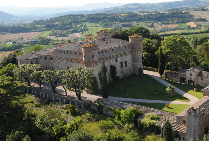 Civitella Ranieri in Umbertide, Italy, site of a new CIMA 2017 Affiliated Fellowship