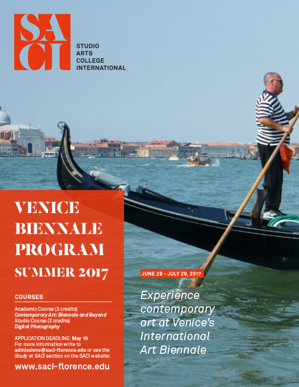 SACI Venice Biennale Program - Summer 2017