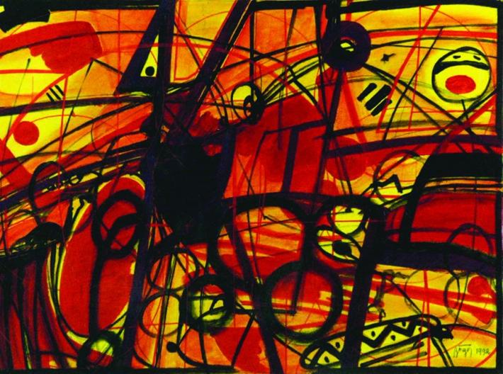 georpge-zogo-1992-olio-su-tela-2