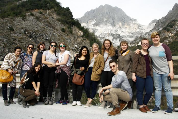 saci sculpture field trip to Pietrasanta Carrara Spring 2017 (22)